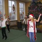 10 Новорічне свято учнів середньої школи