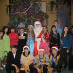 22 Новорічне свято учнів середньої школи