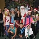24 Новорічне свято учнів середньої школи