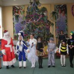 37 Новорічне свято учнів початкової школи