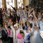 42 Новорічне свято учнів початкової школи
